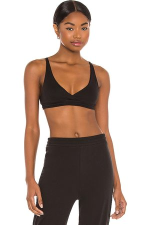 Only Hearts Organic Cotton High Point Bralette in .