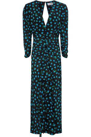 RIXO London Paloma floral silk midi dress