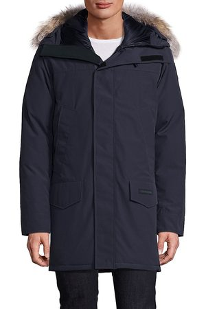 Canada Goose Men's Langford Long Sleeve Parka Black Label - Navy - Size Small
