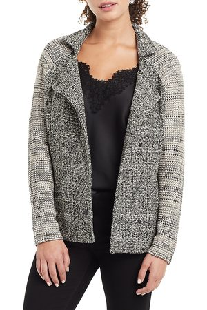 NIC+ZOE, Petites Women's Mixing In Sweater Jacket - Neutral Mix - Size Medium