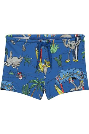 Stella McCartney Baby printed swim trunks