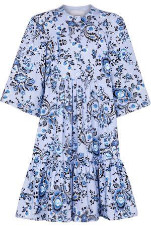 Erdem Edison printed cotton-poplin minidress