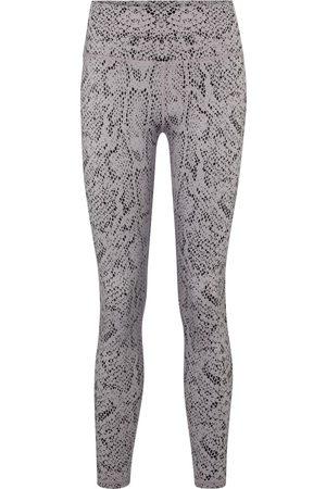 Varley Century snake-print high-rise leggings