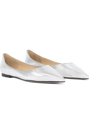 Jimmy Choo Love leather ballet flats