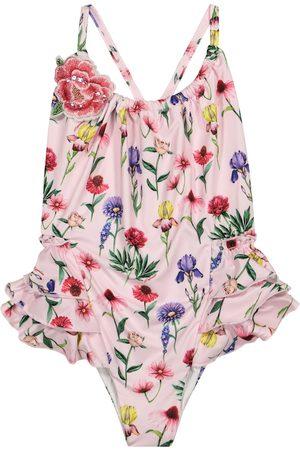 MONNALISA Floral swimsuit