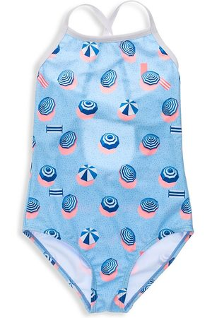 Snapper Rock Little Girl's & Girl's French Riviera One-Piece Swimsuit - - Size 10