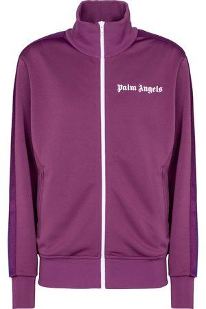 Palm Angels Logo technical-jersey jacket