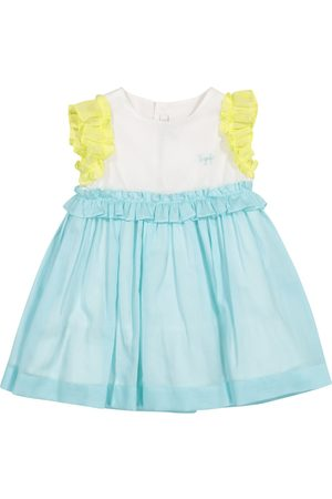 Il gufo Baby cotton dress and shorts