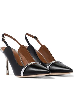 MALONE SOULIERS Marion 85 leather slingback pumps