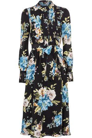 Erdem Gregory floral silk crêpe de chine midi dress