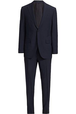 Ermenegildo Zegna Men's Leggerissimo Solid Wool-Silk Suit - - Size 48