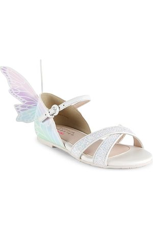 SOPHIA WEBSTER Sandals - Baby's & Little Girl's Talulah Butterfly Sandals - Glitter Pastel - Size 7 (Baby)