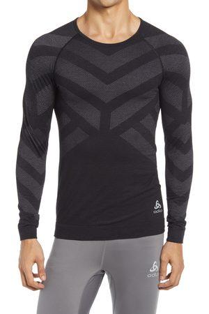 Odlo Men's Natural + Kinship Virgin Merino Wool Blend Long Sleeve T-Shirt