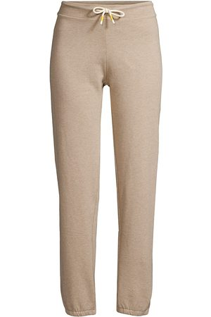 Tory Burch Women's Natural Slim Joggers - Natural Heather - Size XL