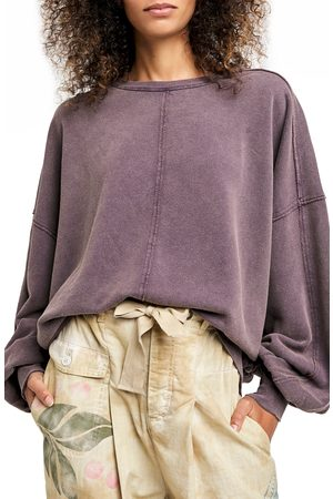 Free People Women's Easy Does It French Terry Pullover