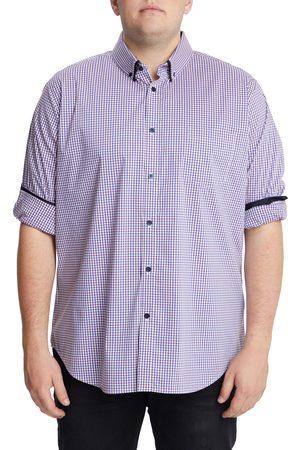 Johnny Bigg Men's Big & Tall Smith Stretch Check Button-Down Shirt