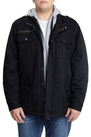 Johnny Bigg Men's Big & Tall Reserve Hooded Jacket