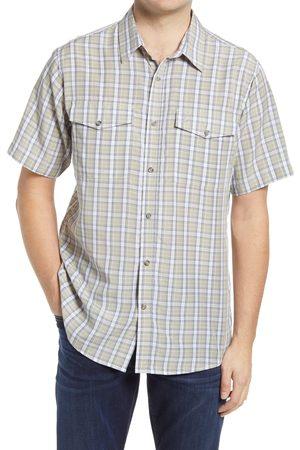 Fjällräven Men's 'Abisko Cool' Regular Fit Plaid Sport Shirt