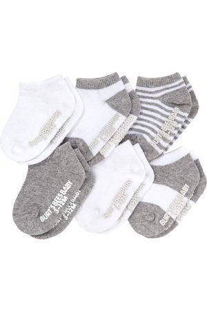 Burt's Bees Infant Assorted 6-Pack Ankle Socks