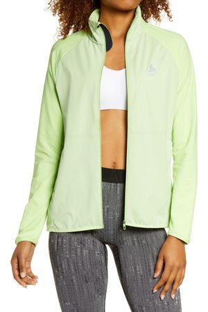 Odlo Women's Zeroweight Warm Hybrid Full Zip Jacket