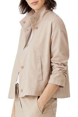 Eileen Fisher Women's Stand Collar Jacket