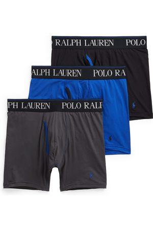 Polo Ralph Lauren Men's 3-Pack 4D Flex Boxer Briefs - Charcoal Grey - Size Medium