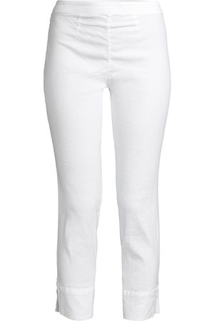 120% Lino 120% Lino Women's Side Zip Capri Pants - - Size XL