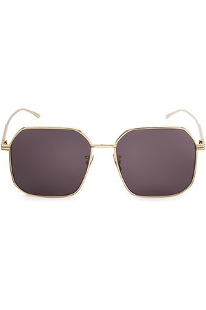 Bottega Veneta Women's DNA 58MM Square Sunglasses