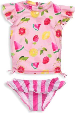 Snapper Rock Baby Girl's Fruit Fiesta Two-Piece Top & Ruffle Bottom Set - - Size 3 Months