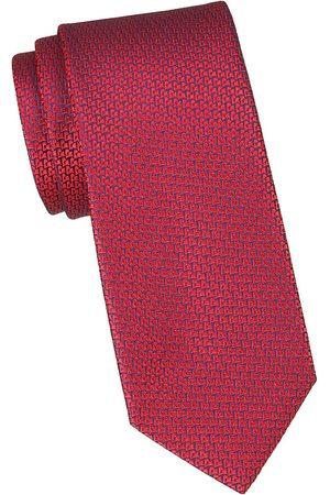 Charvet Men's Geometric Silk Tie