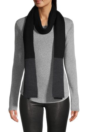 Eileen Fisher Women's Merino Wool Scarf - Charcoal