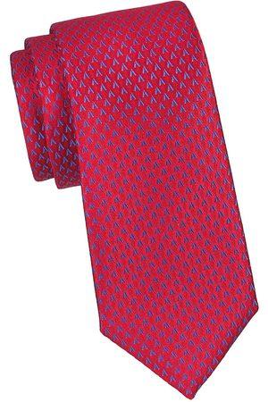 Charvet Men's Neat Allover V Silk Tie