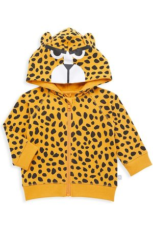 Stella McCartney Baby Boy's Cheetah Print Zip Up Hoodie - - Size 6 Months