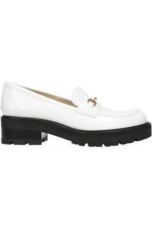Sam Edelman Women's Tully Lug-Sole Leather Loafers - Bright - Size 6.5