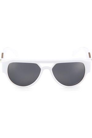 VERSACE Men Round - Men's 57MM Round Sunglasses