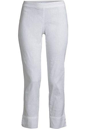 120% Lino 120% Lino Women's Side Zip Capri Pants - Fade - Size XS