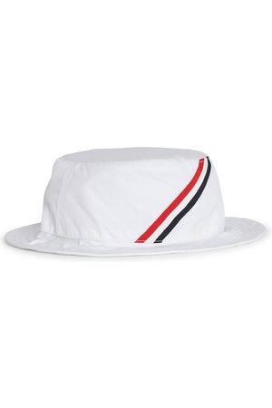Thom Browne Men's Classic Nylon Bucket Hat - - Size Large