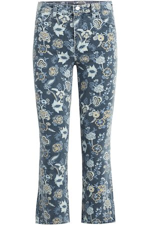 Joes Jeans Women's Callie High-Rise Floral Cropped Jeans - Verona Print - Size Denim: 28