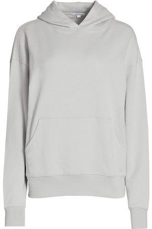 WeWoreWhat Women Hoodies - Women's Oversized Hoodie - Pearl - Size XL