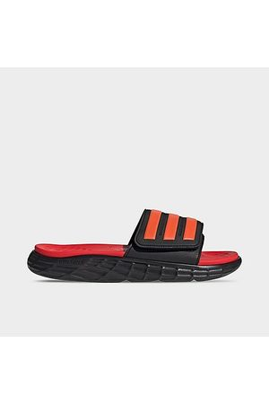 adidas Men's Duramo SL Slide Sandals in /Core Size 5.0