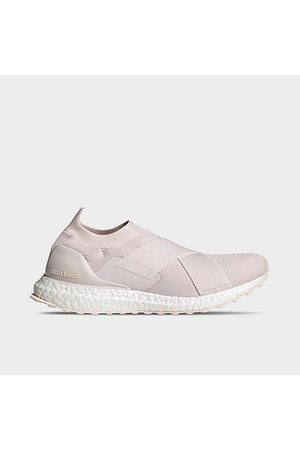 adidas Women Running - Women's UltraBOOST DNA Slip-On Running Shoes in /Orchid Tint Size 10.5 Knit/Plastic
