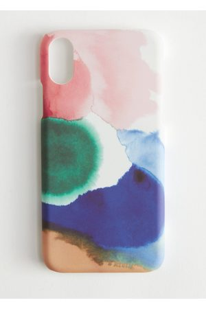 & OTHER STORIES Watercolour Print iPhone Case