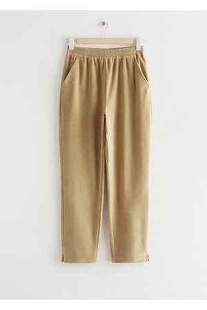 & OTHER STORIES Soft Cotton Lounge Trousers
