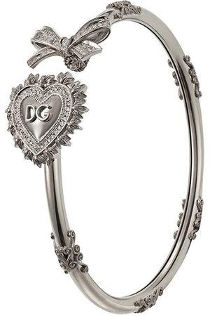 Dolce & Gabbana Women Bracelets - 18kt white gold Devotion diamond bracelet