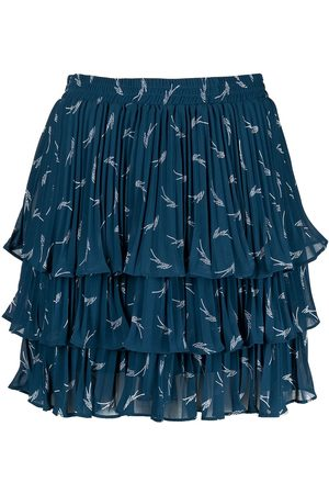 Michael Kors Logo-print ruffle skirt