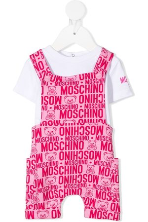 Moschino Sets - Logo-print two-piece set