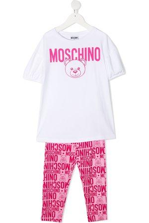 Moschino Logo-print two-piece set