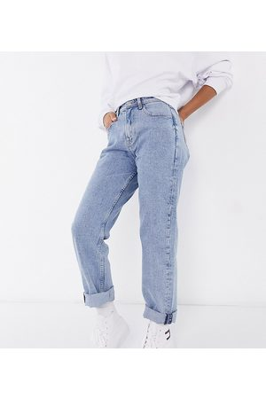 Tommy Hilfiger Ultra high rise straight jeans in light wash-Blues