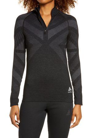 Odlo Women's Blackcomb Mock Neck Half Zip Pullover