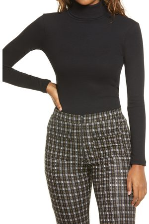 BP. Women's Turtleneck Ribbed Top
